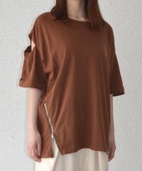 サイドジップスターTシャツ(AF206001-50)