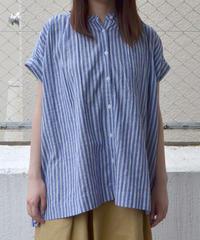 ギャザーフレンチスリーブシャツ(RE020001-30)