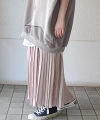 サテンプリーツスカート(AG035003-42)