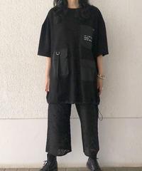 異素材ポケットBIGTシャツ(AF226005-09)