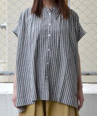 ギャザーフレンチスリーブシャツ(RE020001-09)