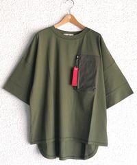 MA-1ポケット付きBIG-Tシャツ(AF234003-65)