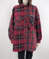 ワンスターチェックシャツ(AE003004-52)