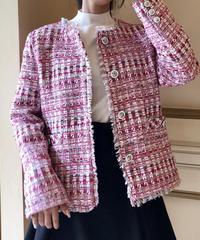 pink tweed JK