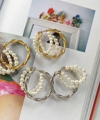 PEARL BLING ピアス / 2color