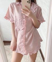 cotton candy pajama SET / 2color