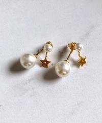 pearl × stella ピアス