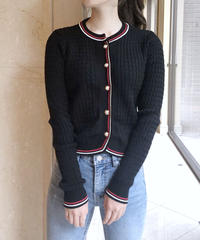 line knit cardigan / 2color