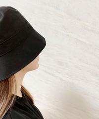 short brim bucket hat