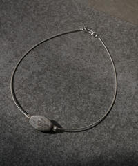 marble source necklace -gray B-