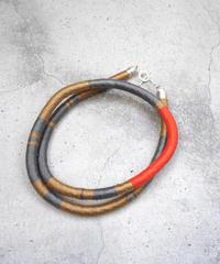 code necklace ORANGE,CAMEL