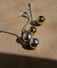 gamelan double pierce/earrings LONG