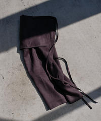 pocket wrap skirt -sumikuro-