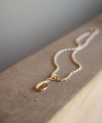 oval boal chain  necklace