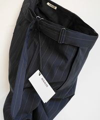 AURALEE Finx Nylon Stretch Wide Slacks
