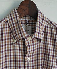 ts(s) Tattersall Plaid Cotton Cloth B.D. Shirt