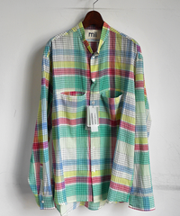 mii Madras Handwoven Long Sleeve Shirt
