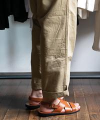 ETRUSCO Back Strap Leather Sandal