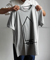 "SARAH CORYNEN ""ACCIDENTAL HOME"" T-Shirt Heather Gray"