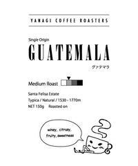 グァテマラ    サンタ・フェリーサ農園  ティピカ ナチュラル 150g【中煎り】【シングルオリジン】