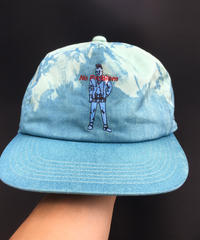 藍ムラ染キャップ002