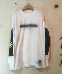 エルボーパッドロングスリーブシャツ001
