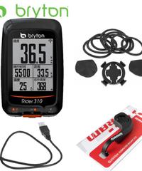 サイクルコンピュータ サイコン メーター GPS 自転車 デジタル スピードメーター Bryton Rider 310