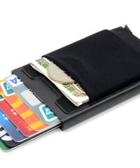 マネークリップ 薄型財布 カードホルダー カード入れ スリ防止 コンパクト 安い