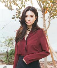 ブラウスシャツ 韓国 レディース トップス Yシャツ 事務服 カワイイ カジュアル