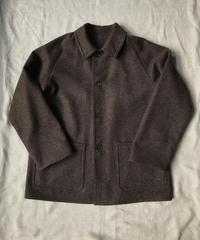 【1点物】Wool Tweed - Brown Mix| Blouson
