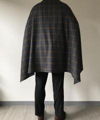 W.BILL Wool Flannel - Grey Check|Blanket