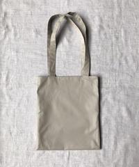 Cotton Gabardine - Tamamushi Grey Beige |Slim Tote Bag