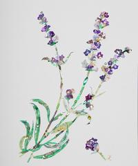 セミオーダー 花・植物 (中) +1石のストーン