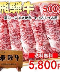 飛騨牛 肩ロース 500g(250g×2)冷凍