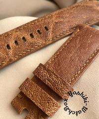 エレファント  腕時計ベルト ライトブラウン (ラグ幅24mm - バックル幅22mm)  ele-03