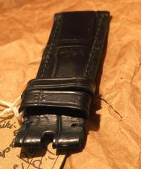 クロコダイル ブラック 26mm-26mm CRO-44