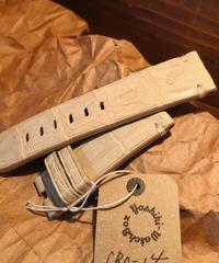 クロコダイル ホワイト 24mm CRO-14