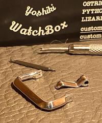 シルバー925 腕時計ベルト用 バックル 20mm アンティークレプリカ ars-20