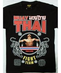 タイフェスで大人気のムエタイTシャツ ファイトチーム タトゥー柄