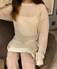 fish net knit
