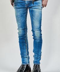 ys Yuji SUGENO (イース ユウジ スゲノ)  210340503-INDIGO / Hybrid Stretch USED Skinny Denim Pants