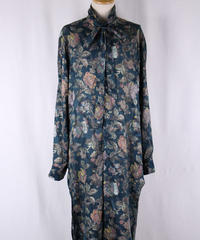 Bennu(ヴェンヌ)  110730402 / Paisley JQ Floral Regular Color Long Shirts