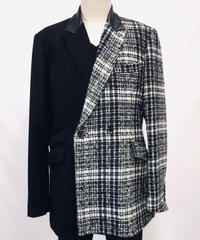 Bennu(ヴェンヌ)  120831001 / Tweed changing Semi double Tailored Jackt