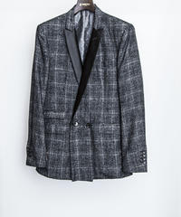 Bennu(ヴェンヌ)  110231001 / Bright Check Double Brest Jacket