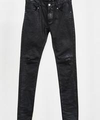 ys Yuji SUGENO (イース ユウジ スゲノ)  210340506 / PU coating processing twin power skinny denim pants