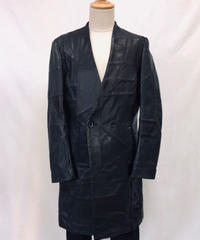 Bennu(ヴェンヌ)  320051101 / Patchwork Leather No collar Double Coat