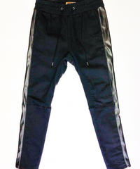Bennu(ヴェンヌ) 120840504/ Super stretch denim Saruel Line Pants