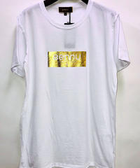 Bennu(ヴェンヌ)  120710111 /  Gold Box logo Cut Off Loose Tee