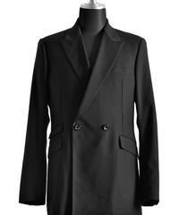 Bennu(ヴェンヌ)  BH17SS-JK01 /  Tuxedo cross embroidery Double Brest Jacket