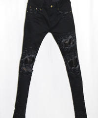 Bennu(ヴェンヌ)  410640501 / RESURRECTION collaboration / Leather Remake skinny Pants